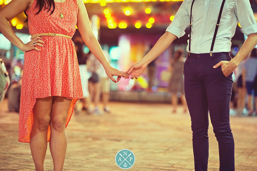 Amusement park engagement, carnival engagement photos, Aaron nicholas Photgraphy,