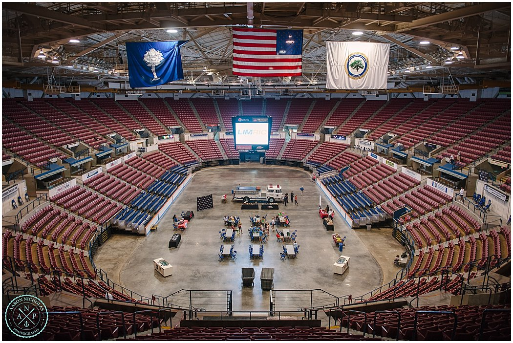 the American Lung Association Fight for Air Climb Fundraiser in North Charleston at the Coliseum in South Carolina
