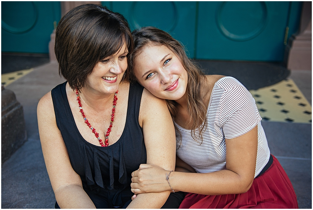 Mother / Daughter session by Aaron Nicholas Photography