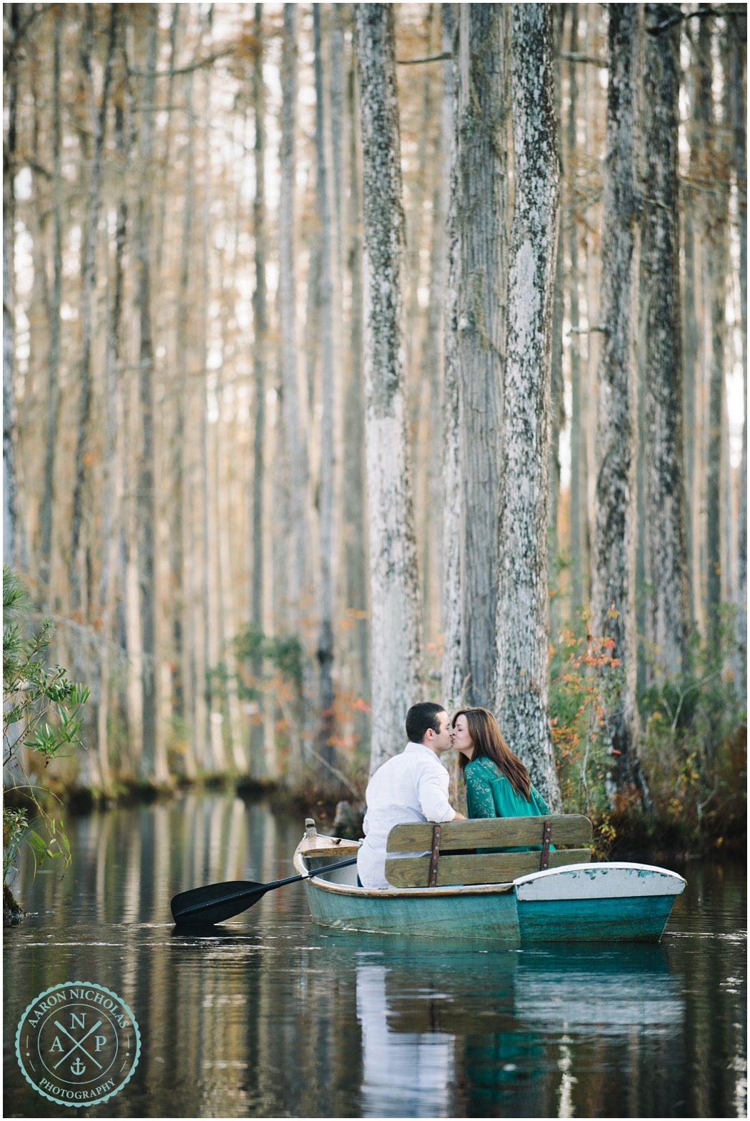 Cypress Gardens, Charleston, SC engagement session! - Photo by Aaron Nicholas Photography, destination wedding photographer based in Charleston, South Carolina