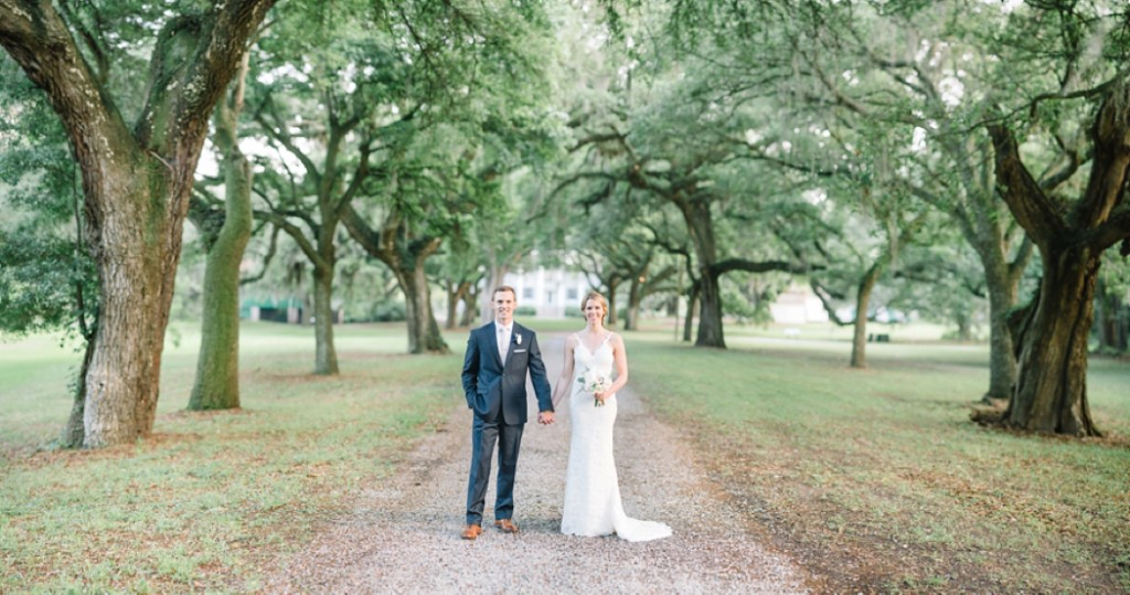 McLeoud Plantation driveway, Country Club of Charleston Wedding - Photos by Aaron and Jillian Photography -_0001