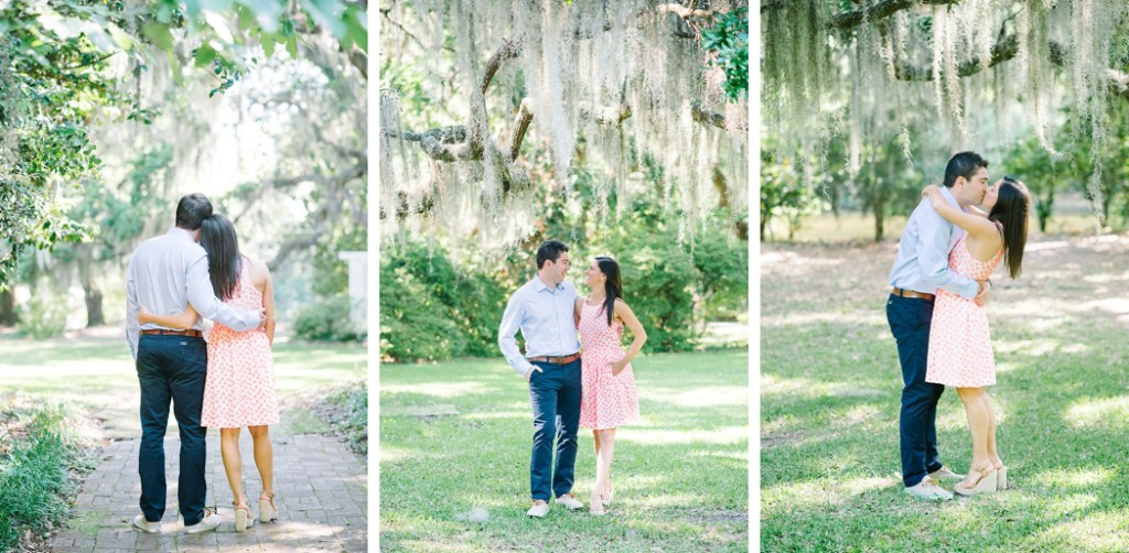 Charleston engagement photos at The Legare Waring House by Charleston wedding photographers Aaron and Jillian Photography -_0011