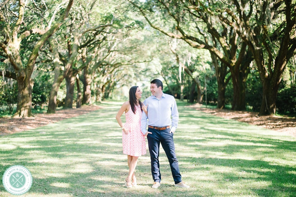 Charleston engagement photos at The Legare Waring House by Charleston wedding photographers Aaron and Jillian Photography -_0013