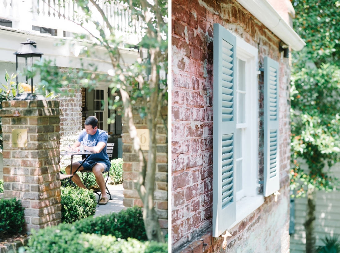 Legare Waring House elopement in Charleston, SC wedding photography by Aaron and Jillian Photography_0011