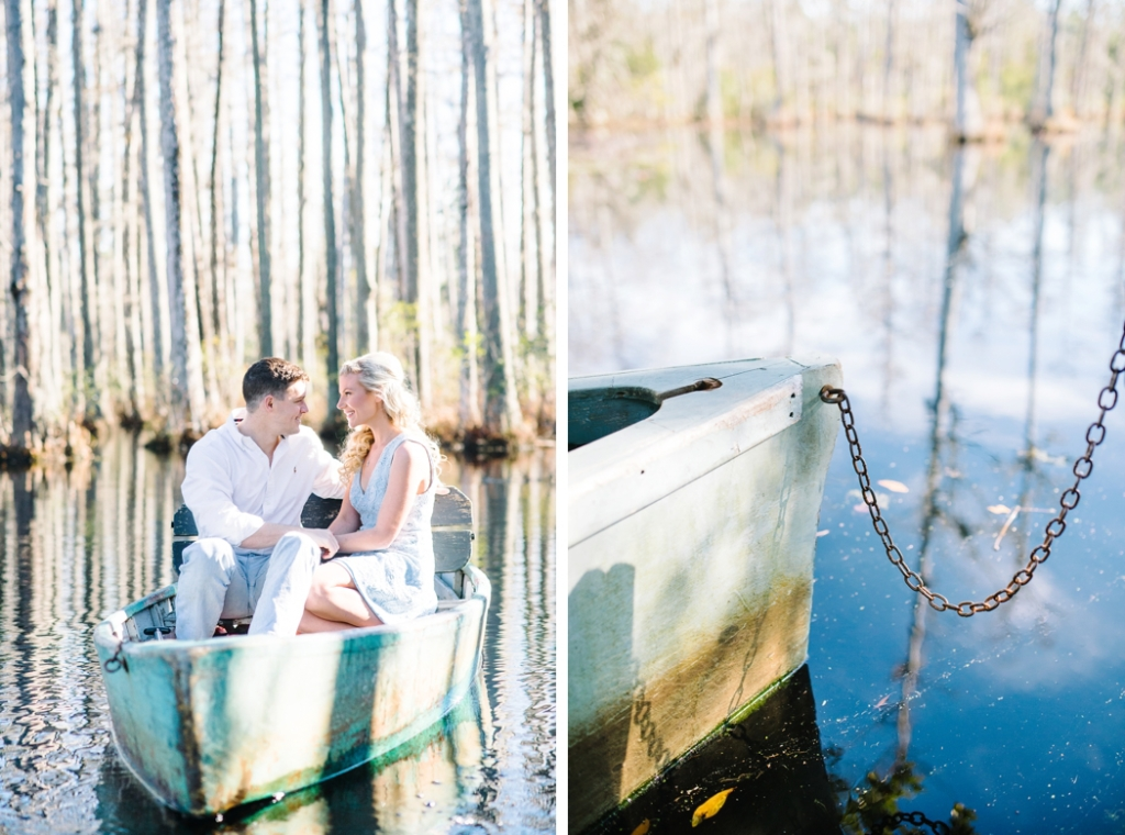 Cypress Gardens engagement photos in Charleston, SC - Charleston wedding photographers Aaron and Jillian Photography -_0025