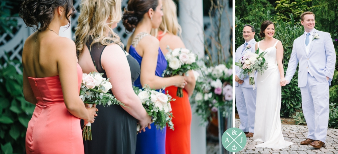 Bride and Groom at a New York Botanical Gardens wedding by Charleston wedding photographers Aaron and Jillian Photography -_0040