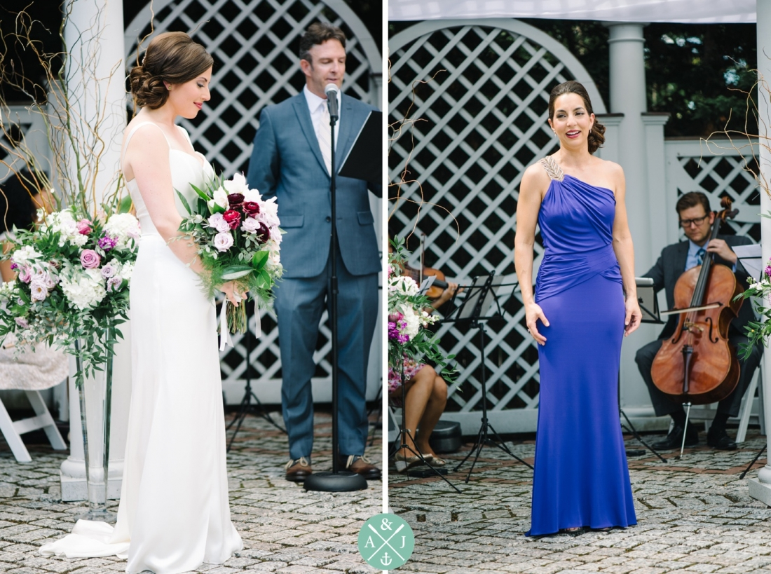 Beautiful bride and opera singer at a New York Botanical Gardens wedding by Charleston wedding photographers Aaron and Jillian Photography -_0043