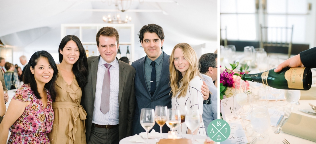 Wedding guests at a New York Botanical Gardens wedding by Charleston wedding photographers Aaron and Jillian Photography -_0053