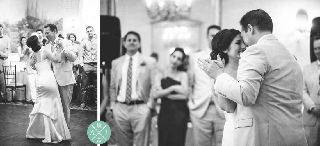 First dance at a New York Botanical Gardens wedding by Charleston wedding photographers Aaron and Jillian Photography -_0054