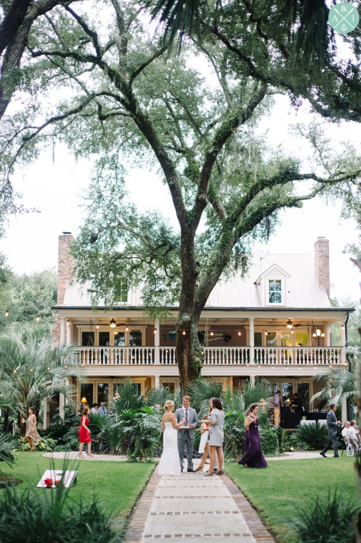 Charleston Wedding Photo by Aaron and Jillian Photography - Palmetto Landing Wedding reception