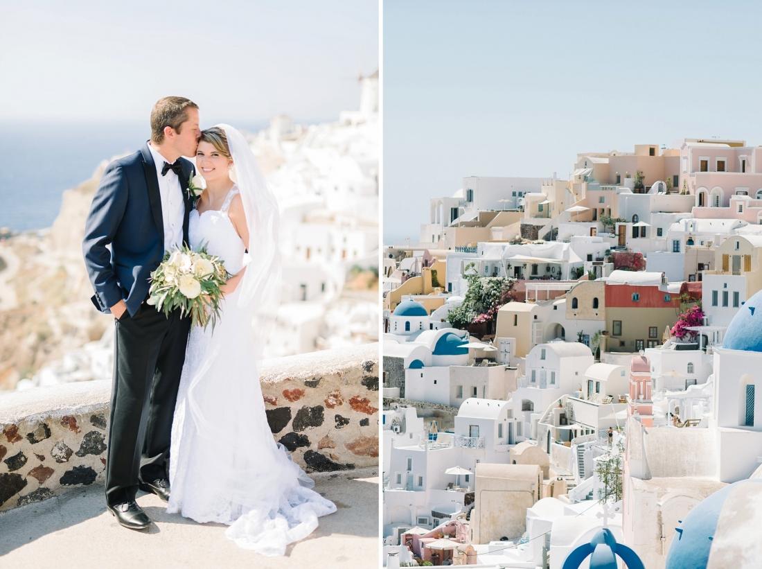 Brian Alex S Santorini Wedding